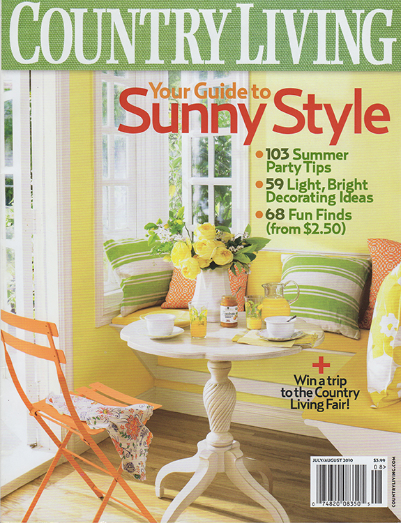 COUNTRY LIVING | july/aug 2010