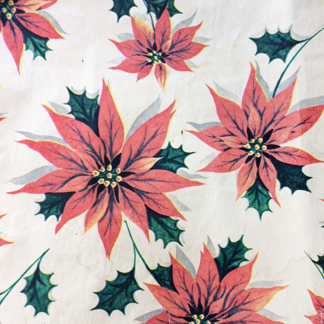 vintage christmas wrapping paper - Pink Christmas Wrapping Paper