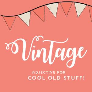 Shop All Vintage
